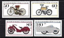 Allemagne Rep.Fed. 1983  Mi.:nr.1168-1171 Jugend  Neuf Sans Charniere / Mnh / Postfris - Nuevos