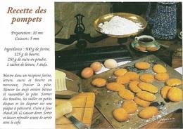 Recettes De Cuisine - Recette Des Pompets - Carte Signée /  F.Debaisieux - Cpm - Pas écrite - - Recipes (cooking)