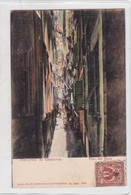 RICORDO DI GENOVA. VICO DEL DUCA. H GUGGENHEIM & CO EDIT. CIRCULEE CIRCA 1910's- BLEUP - Genova
