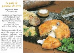 Recettes De Cuisine - Recette Le Pâté De Pommes De Terre - Carte Signée /  F.Debaisieux - Cpm - Pas écrite - - Recipes (cooking)