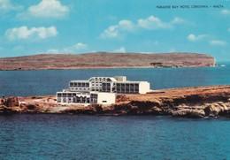 Postcard Paradise Bay Hotel Cirkewwa Malta PU 1974 By ABC South Street Valetta My Ref  B22938 - Malta