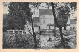 89 - MALIGNY : Le Moulin - CPA Village (800 Habitants) - Yonne Water Mill Wassermühle Watermolen Mulino Ad Acqua Molino - Andere Gemeenten