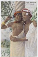 LES AMOUREUX *** JEUNE FILLE ET JEUNE GARCON *** / 1795 A - Portraits