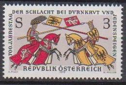 Österreich 1978 Nr.1580 ** Postfr. 700.Jahrestag Der Schlacht Bei Dürnkrut U.Jedenspeigen ( 4045)günstige Versandkosten - 1971-80 Neufs