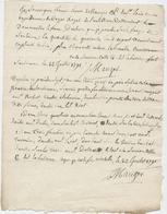 Soulaines Dhuis,1791,Dommartin Le Franc, Corps Royal De L'artillerie, Révolution,déclaration De Biens, De Mauger - Manuscrits