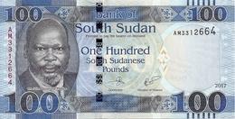 SOUDAN SOUTH 100 POUNDS 2017 UNC P New - Soudan