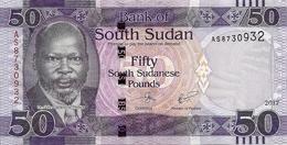SOUDAN SOUTH 50 POUNDS 2017 UNC P New - Soudan