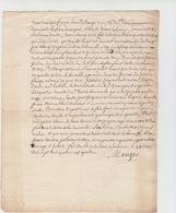 Soulaines Dhuis,1784,Dommartin Le Franc,,échange De Terres, De Mauger,Ruaut - Manuscrits