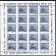 Croatia 1993 / Centennial Of The Spa In The Spa Town Lipik, Health Center / Neorenaissance Kursalon / Mint Sheet - Croatie