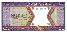 MAURITANIA 100 OUGUIYA 1999 P-4j UNC  [MR104j] - Mauritania