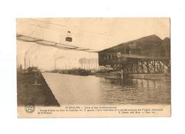 ST.-GHISLAIN - Canal Et Quai De Déchargement (1924). - Saint-Ghislain