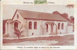 (Visale) La Première église En Pierre Aux Iles Salomon - Solomon Islands