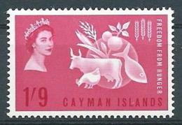 1963 CAYMAN ISLANDS LOTTA CONTRO LA FAME MNH ** - GB002 - Cayman (Isole)