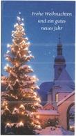 BIGLIETTO AUGURI BUON ANNO - Frohe Weihnachten Und Ein Gutes Neues Jahr - Obp Cards - Usata - Used - Vecchi Documenti