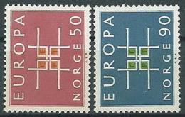 1963 EUROPA NORVEGIA MNH ** - EV-3 - Europa-CEPT