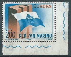 1963 EUROPA SAN MARINO MNH ** - EV - Europa-CEPT