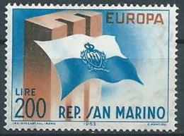 1963 EUROPA SAN MARINO MNH ** - EV-2 - Europa-CEPT