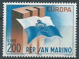 1963 EUROPA SAN MARINO MNH ** - EV-3 - Europa-CEPT