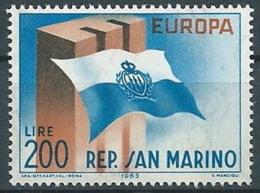 1963 EUROPA SAN MARINO MNH ** - EV-4 - Europa-CEPT