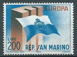 1963 EUROPA SAN MARINO MNH ** - EV-6 - Europa-CEPT