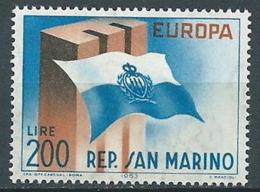 1963 EUROPA SAN MARINO MNH ** - EV-7 - Europa-CEPT