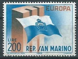 1963 EUROPA SAN MARINO MNH ** - EV-8 - Europa-CEPT
