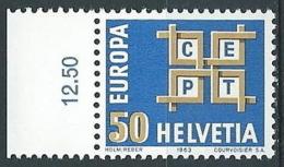 1963 EUROPA SVIZZERA MNH ** - EU8824 - Europa-CEPT