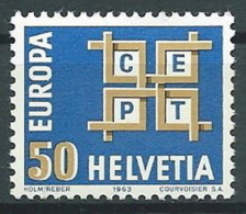 1963 EUROPA SVIZZERA MNH ** - EV - Europa-CEPT