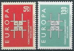 1963 EUROPA TURCHIA MNH ** - EU8824 - Europa-CEPT