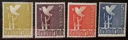 N338. GERMANY AMERICAN/BRITISH ZONE. 1947. MI#: 959- 962- MNH.  HIGH VALUES OF THE SET - American/British Zone