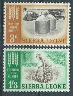 1963 SIERRA LEONE LOTTA CONTRO LA FAME MNH ** - GB002 - Sierra Leone (1961-...)