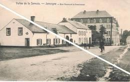 JAMOIGNE ( Belgique ) - Rue Neuve Et Le Pensionnat - Vallée De La Semois - Animée - Chiny