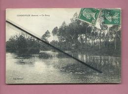 CPA  Abîmée   -  Condé Folie  -(Somme) - Un étang - France