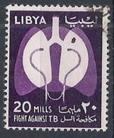 1964 LIBIA REGNO USATO GIORNATA ANTITUBERCOLARE - RR12472 - Libia