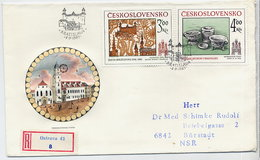 CZECHOSLOVAKIA 1985 Historic Bratislava On FDC.  Michel 2825-26 - FDC