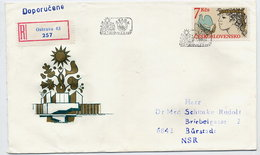 CZECHOSLOVAKIA 1985 European Security Conference On FDC.  Michel 2822 - FDC