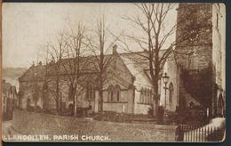 °°° 11844 - WALES - LLANGOLLEN - PARISH CHURCH °°° - Denbighshire