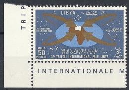 1965 LIBIA REGNO FIERA DI TRIPOLI MNH ** - RR12473 - Libia