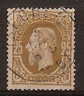 Mw-2683  Ocb 32  ISEGHEM - 1869-1883 Léopold II