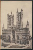 °°° 11848 - UK - LINCOLN - CATHEDRAL WEST FRONT °°° - Lincoln