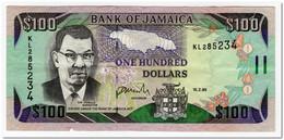 JAMAICA,100 DOLLARS,1999,P.76b,VF - Jamaica