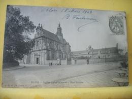 41 1126 CPA 1903 - 41 BLOIS. EGLISE SAINT VINCENT. RUE GALLOIS. EDIT. J.D. ET Cie. - ANIMATION - Blois