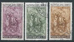 1966 VATICANO USATO NATALE - VTU062 - Oblitérés