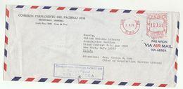 1979 Peru COMISION PERMANENTE DE PACIFICO SUR SECRETARIA GENERAL To UNITED NATIONS USA Meter Stamps COVER Un - Peru