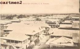 PANAMA BIRDS EYE OF COLON IRVIN § THOMAS CRISTOBAL - Panama