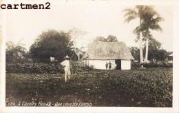 PHOTO CARD CUBA A COUNTRY HOUSE UNA CASA DE CAMPO FERME FARMER LA HAVANE CUBA - Cuba