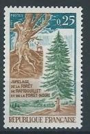 1968 FRANCIA FORESTA DI RAMBOUILLET E DELLA FORESTA NERA MNH ** -  FR819 - Nuovi