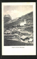 AK Kippel, Ortsansicht Mit Dem Lötschpass - VS Valais