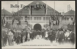 18 - BOURGES - Exposition Automobile Agricole De Bourges - #2 - Entrée ++++ A. Auxenfans ++++ Parfait état - Bourges