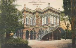PERU LIMA PALACIO DE LA EXPOSICION PABELLON GOTICO PEROU - Pérou